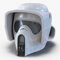 wars scout trooper motorcycle helmet 3d scout trooper helmet