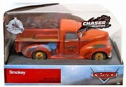 Disney Cars 3 Chaser Series Smokey Exclusive Diecast