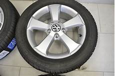 original vw touran golf 6 aluradsatz sima mit winterreifen