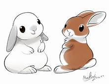 Bunnies  I Draw My Friends Own Cause They Are