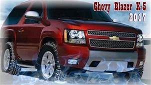2020 Chevy K5 Blazer  Cars Specs Release Date Review