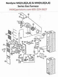 Mgba070 Nordyne Gas Furnace Parts Hvacpartstore