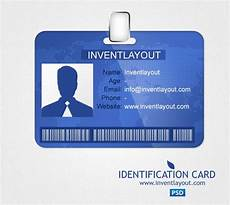 card templates html identification card psd inventlayout