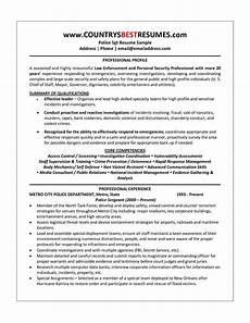 police officer resume sle http resumecareer info police officer resume sle