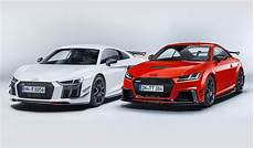 audi r8 performance parts new audi sport performance parts for r8 and tt look phenomenal