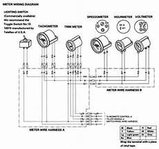 Honda Instrumente Verkabeln Wie Schlauchbootforum