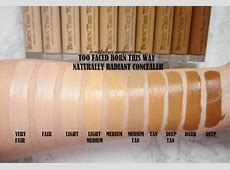 born this way concealer shades