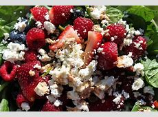 very berry spinach salad_image