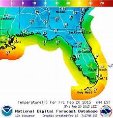 Wetter In Florida - historic cold snap threatens freezing temps florida to