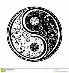 Malvorlagen Yin Yang Foto Simbolo Di Yin Yang Immagini Stock Libere Da Diritti