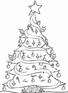malvorlage weihnachten tannenbaum ausmalbilder