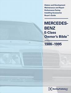 automotive service manuals 1986 mercedes benz e class parental controls front cover mercedes benz repair manual mercedes benz e class w124 owner s bible 1986