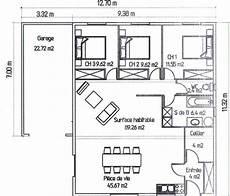 plan d intérieur de maison plan de la maison avec l option garage