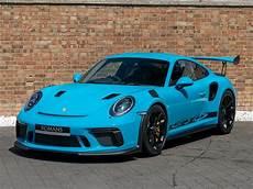 2018 used porsche 911 gt3 rs miami blue