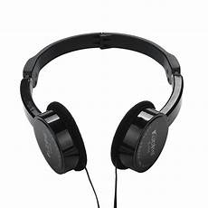 Foldable Gaming Headphone Wired Stereo by Kubite Wire Headphones On Ear Foldable Stereo Headset