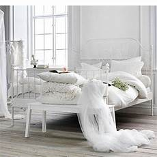 White Metal Bed Bedroom Ideas by Ikea Leirvik Bed Frame White Size Iron