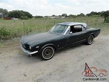 1965 FORD MUSTANG GT CONVERTIBLE K CODE