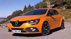 pr 233 sentation renault megane 4 rs 280 sport edc orange