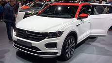 Volkswagen T Roc R Line 2018 In Detail Review Walk Around