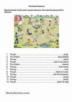 grammar worksheets present continuous tense 24932 23 best present continuous images on grammar class and