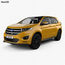 Ford Edge Sport 2016 3d Model Vehicles On Hum3d