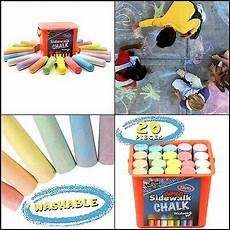 Amazon Com Chalk City Sidewalk Chalk 20 Count New High Quality 2020 Chalk City Sidewalk Chalk 20