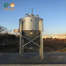 poultry equipment small capacity galvanized steel 4 tons feed bins buy 4 tons feed bins silo
