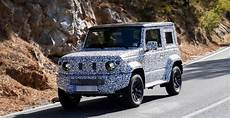 2019 Suzuki Jimny Spied For The Time 2019 And 2020