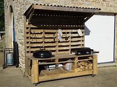 Cuisine D Ext 233 Rieur Mobile Avec Plancha Et Barbecue