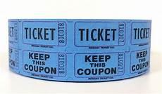 Blue Raffle Ticket Roll 2000 Ebay