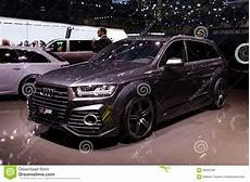 audi q7 v8t abt sportsline audi q7 editorial stock photo image of