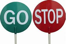 Traffic Stop Go Sign C W Pole 400x400mm Workplace Safety