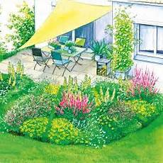 terrassenumrandung mit pflanzen gestaltungsidee sitzplatz am wasser mein sch 246 ner garten
