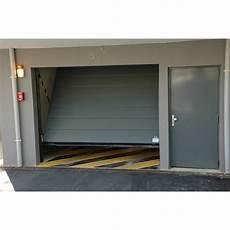 Porte De Garage Séquentielle Porte Basculante Safir Intro 2 Portes De Parking Collectifs