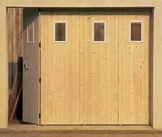 Porte De Garage Coulissante En Bois Sapin 233 P 22mm Haut 2