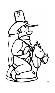 Malvorlage Pferd Comic Cowboy Auf Einem Pferd Ausmalbild Malvorlage Comics