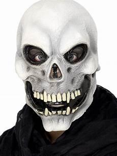 Mens Skeleton Mask Overhead Mask Evil Psycho Skull