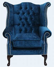 chesterfield wing high back armchair pastiche