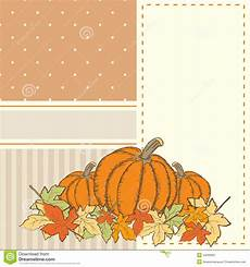 invitation or greeting thanksgiving card