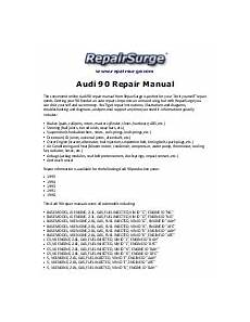 how to download repair manuals 1995 audi cabriolet electronic valve timing audi cabriolet repair manual 1994 1998