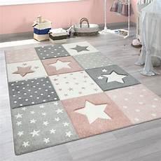 teppich de kinder teppich pastellfarben karo sterne teppich de