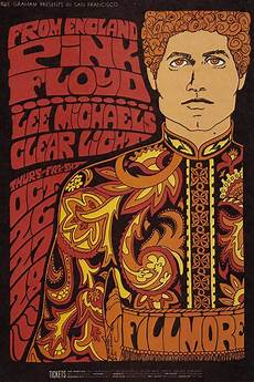 20 classic vintage psychedelic rock posters from the 60s