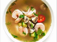 hot   sour chicken soup_image