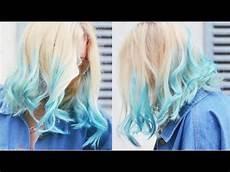 Dip Dye Einfach Selbst Machen Diy Haartrends F 228 Rben