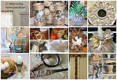 Jute Home Decor Ideas by 12 Ideas Using Twine Jute And Rope For Home Decorating