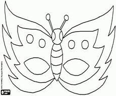 Malvorlage Maske Schmetterling Ausmalbilder Schmetterlinge Maske Zum Ausdrucken