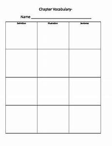 vocabulary worksheet template by ally d alessandro tpt