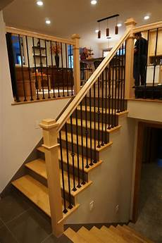 custom handrails and stairs home improvers