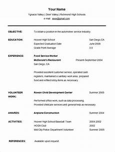 7 exle of an cv for a student penn working papers
