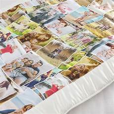 luxury satin photo quilts personalised quilt patchwork style